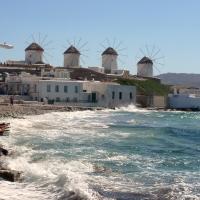 8 molinos de viento por países del mar Mediterráneo