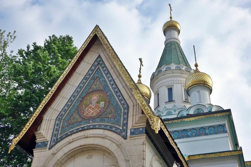 Detalle de la iglesia