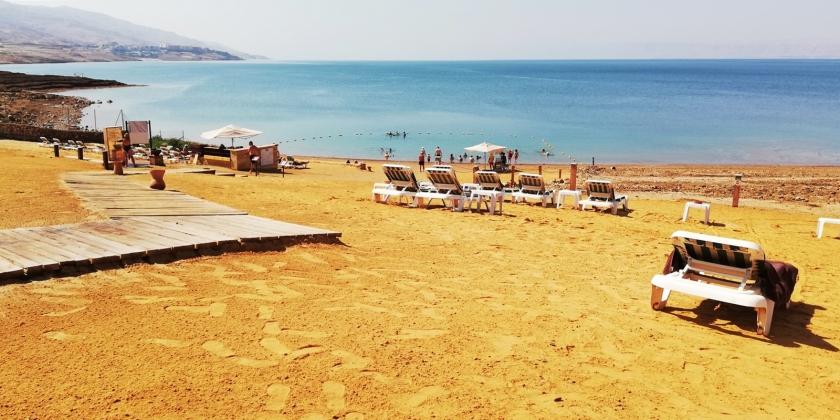 La playa del hotel donde estuvimos