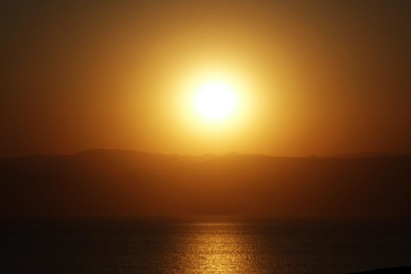 Al otro lado del Mar Muerto, Israel