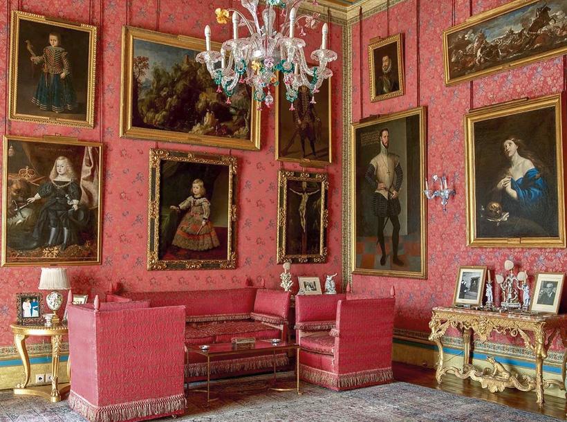 Sala del siglo de Oro español, fuente imagen: Palacio de Liria
