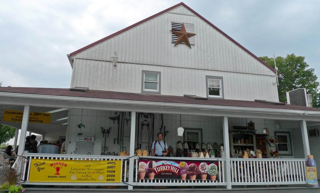 Tiendas Amish, alimentos y artesanías