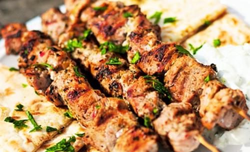 Pincho de carne. Fuente imagen, Internet