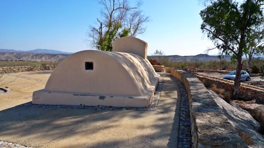 Paraje cerca del pueblo, donde se hace la visita a la cueva