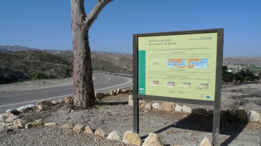 Explicación de la evolución geológica de la zona