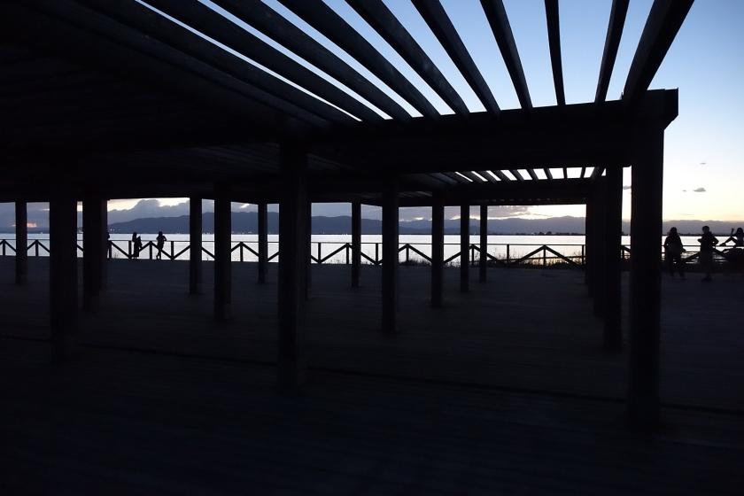 Playa del Trabucador, uno de los más concurridos