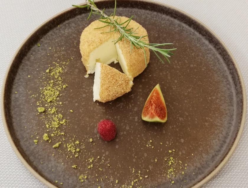 Tarta de queso ... muy creativa