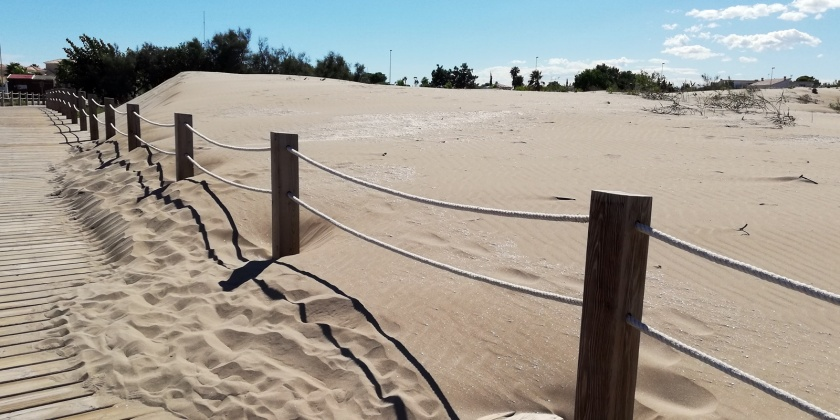 Playas y dunas