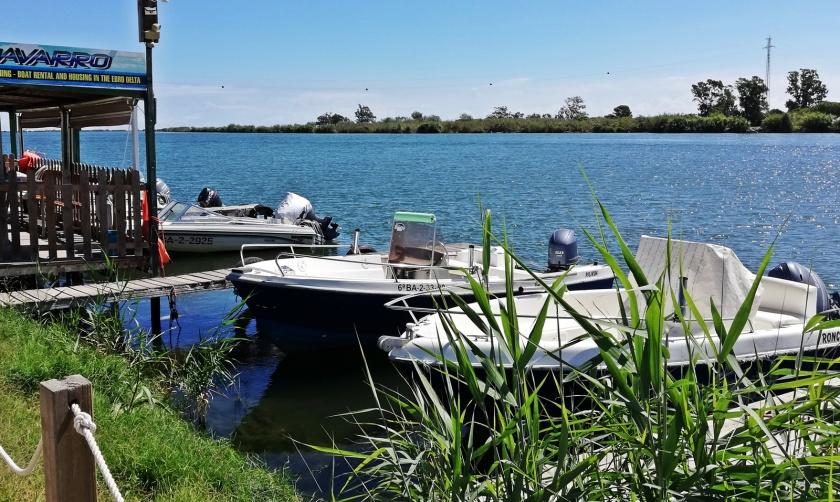 Opción de alquiler de barcos recreativos